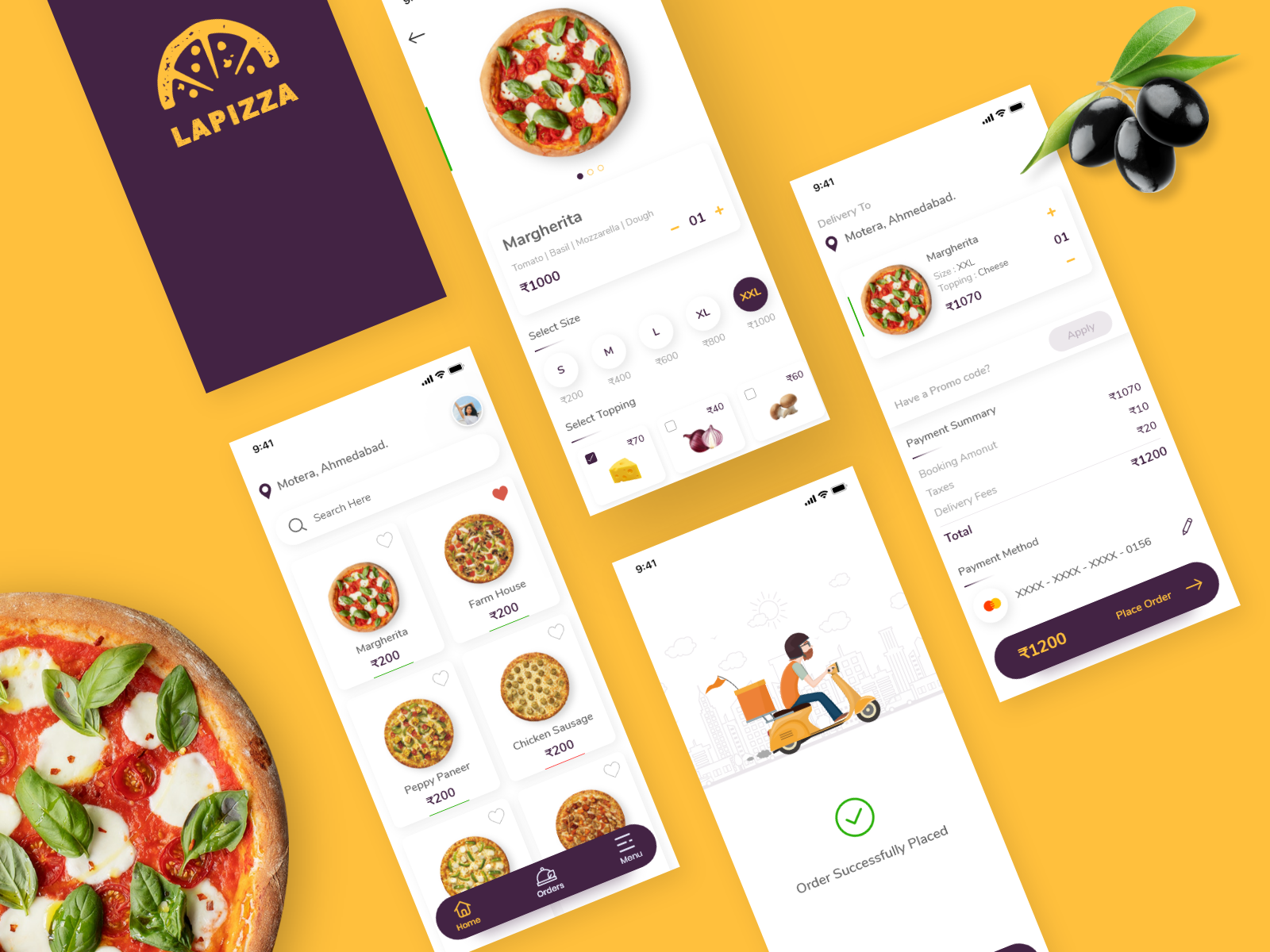 lapizza-food-delivery-app