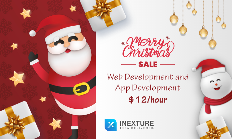 Christmas Offer : Web Development and App Development @ $12/hour