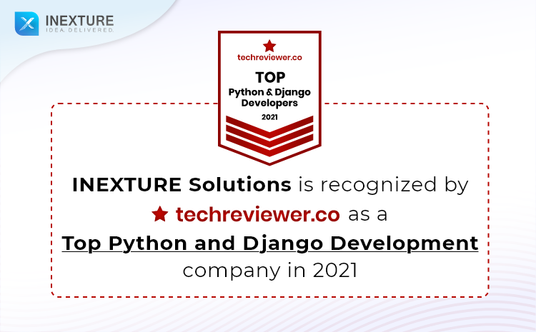 INEXTURE declared as Top Python and Django Development company of January 2021