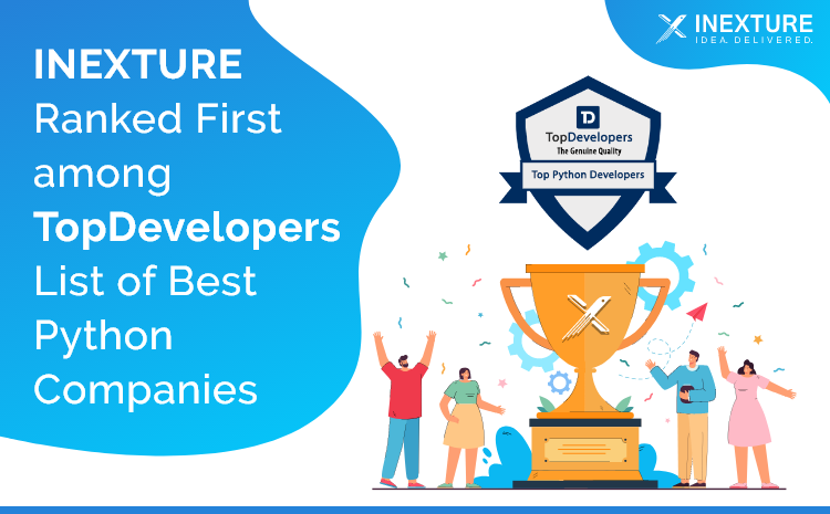 INEXTURE Solutions Recognized as the Best Python Development Company
